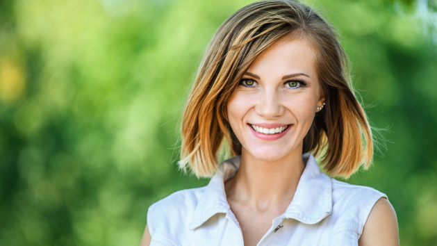 Girl Smiling With Lumineers | Cosmetic Dentistry