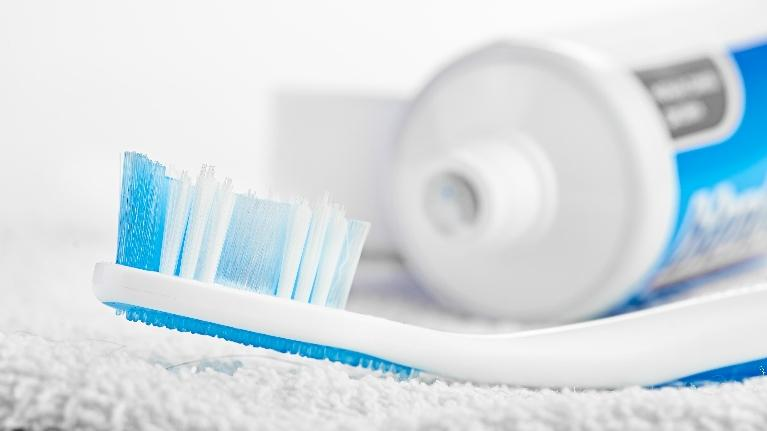 a toothbrush and toothpaste | Wilmington DE dentist