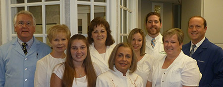 image of the Bruce E Matthews, DDS PA dental team in wilmington de