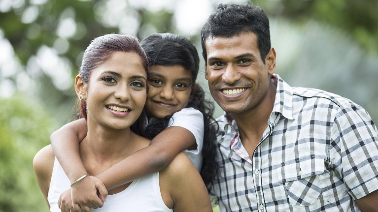 a family smiles | family dentist wilmington de
